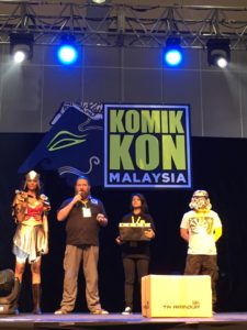 Armour kit donated to Malaysian KomicKon and auctioned for charity